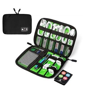 Travel Cable Organizer Portable Electronics Acc.